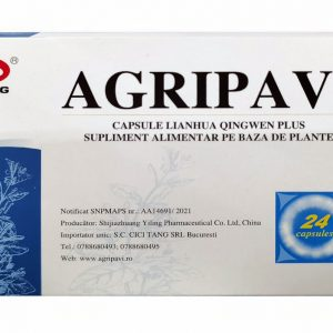 Antigripal antiviral natural AGRIPAVI tratament COVID 19 nou